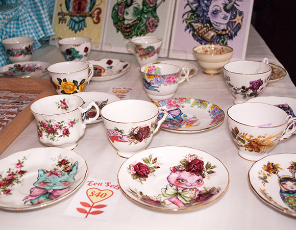 Ella Mobbs tea sets