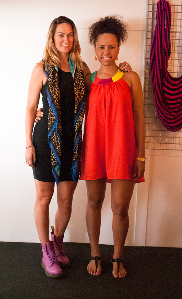 Shannon and Katie - Shakah designers