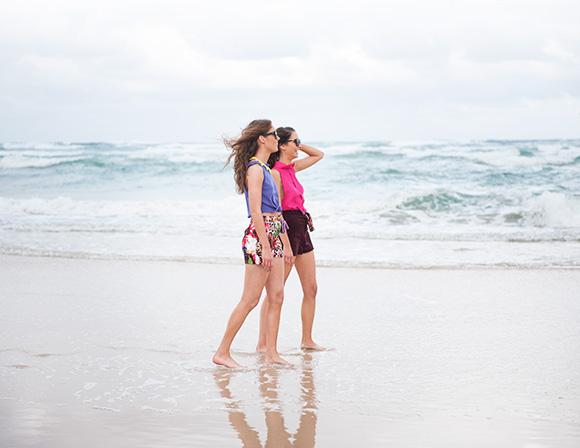 Be Bitko beach shoot - summer fashion at the Gold Coast