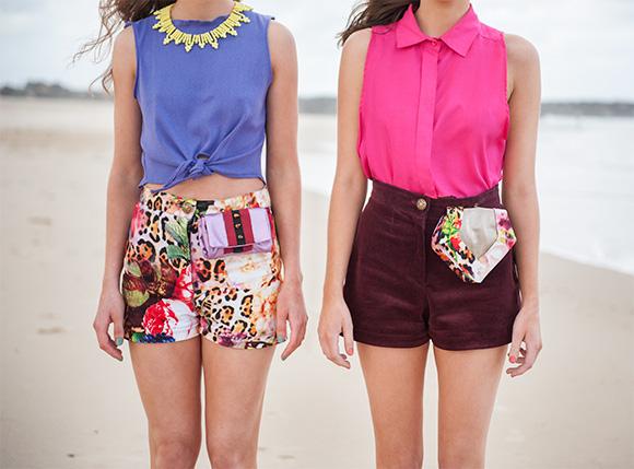 Be Bitko fashion shorts, fashion designer from Brisbane
