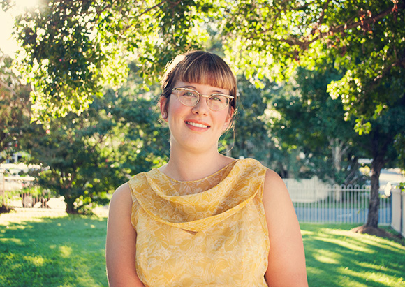 Yellow vintage dress and vintage frames