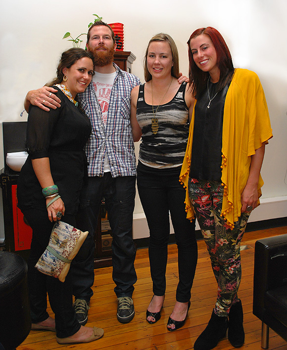 BNE Style captured stylish Brisbane people at art opening