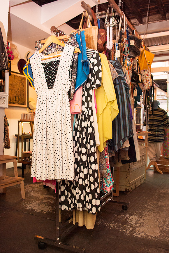 vintage clothing at sunday social, the valley, brisbane