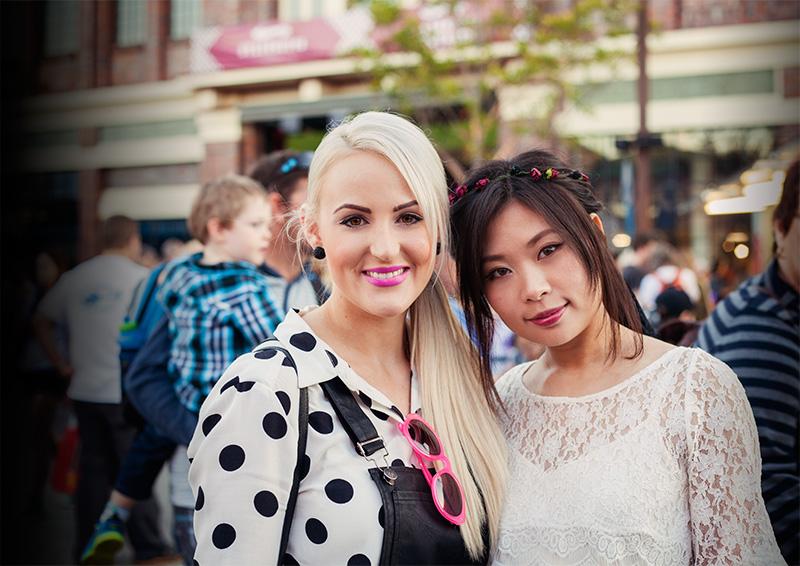 Ashleigh and Juliet Brisbane bloggers