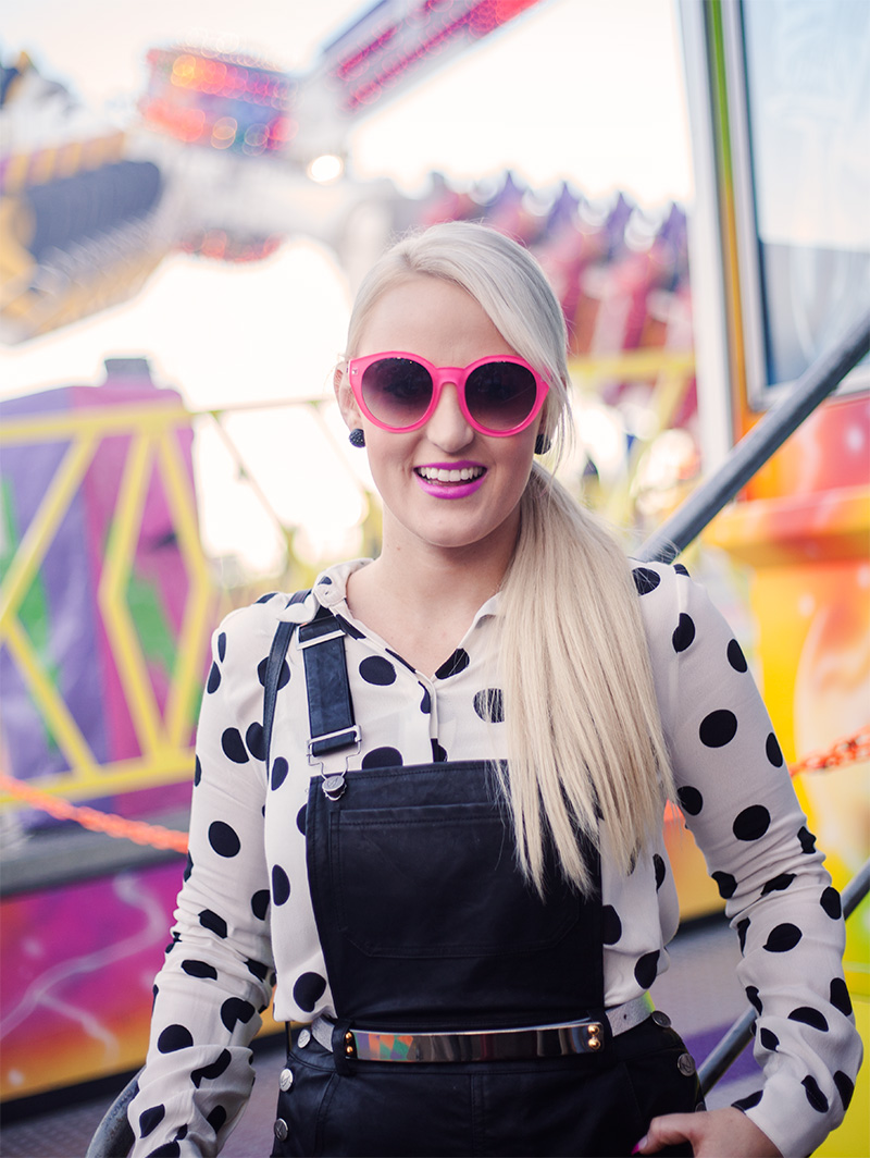 Ashleigh Brisbane blogger at the Ekka