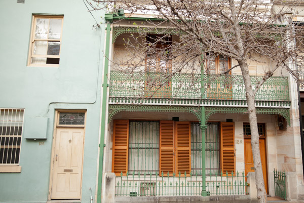 old houses in darlinghurst sydney