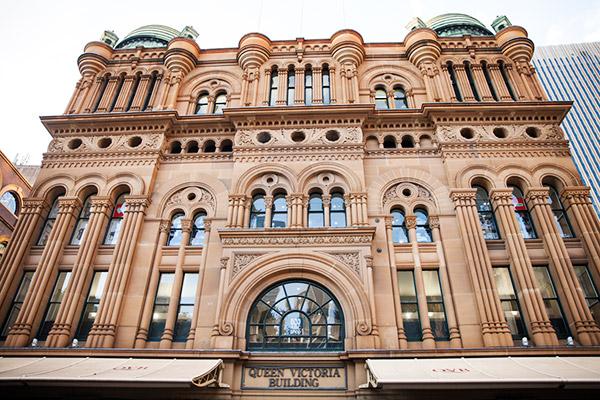 historic queen victoria building sydney