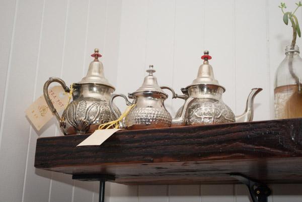 silver teapots at la la latrobe brisbane