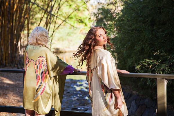 lisas kimonos in brisbane garden perfect for spring