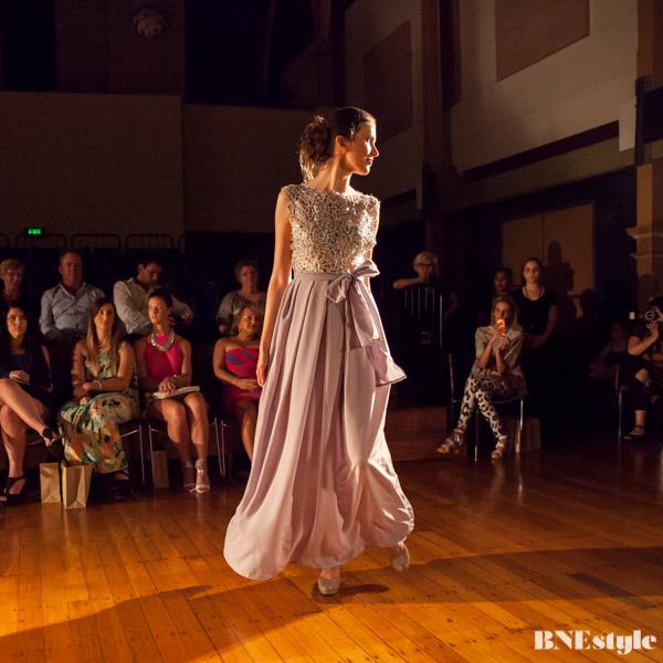 Niki Teljega Brisbane fashion designer evening gown