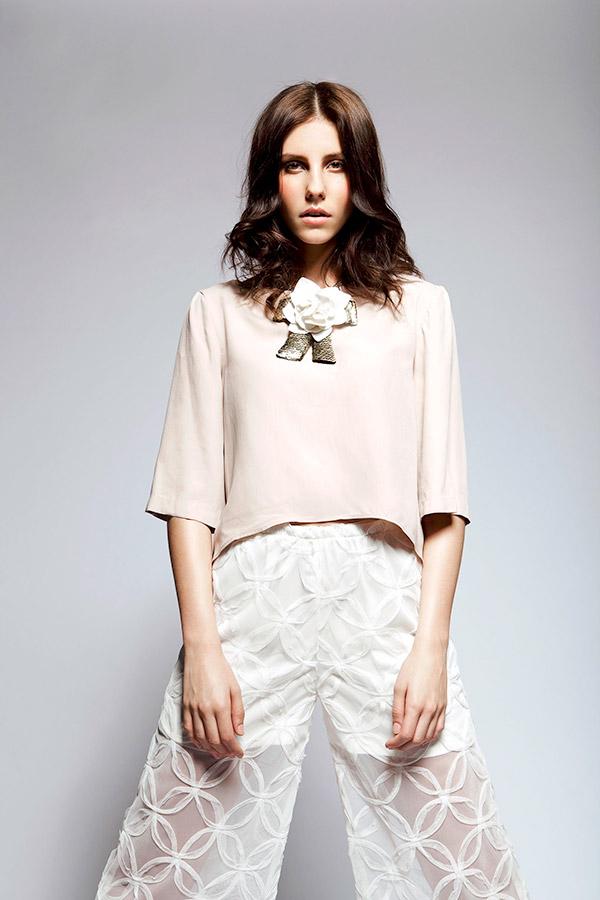 Label Look Brooke graduate designer fashion show