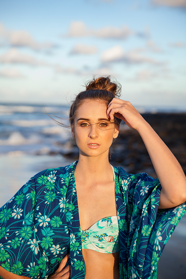 harriette hill drape jacket beach photography Brisbane