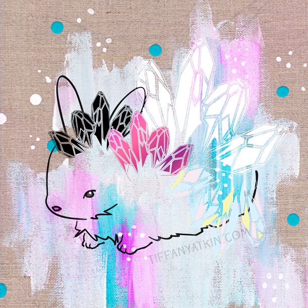 gem lapin by artist tiffany atkin