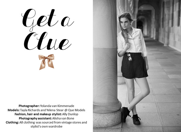 get a clue published on whim magazine