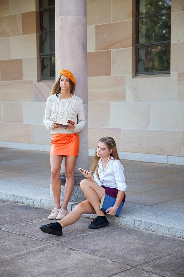 get a clue brisbane fashion editorial winter style