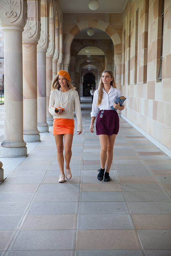get a clue brisbane fashion editorial winter university style
