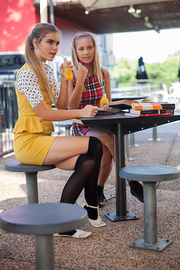 get a clue brisbane fashion editorial lunchtime gossip